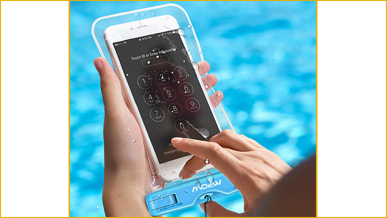 Custodie waterproof impermeabili touchscreen