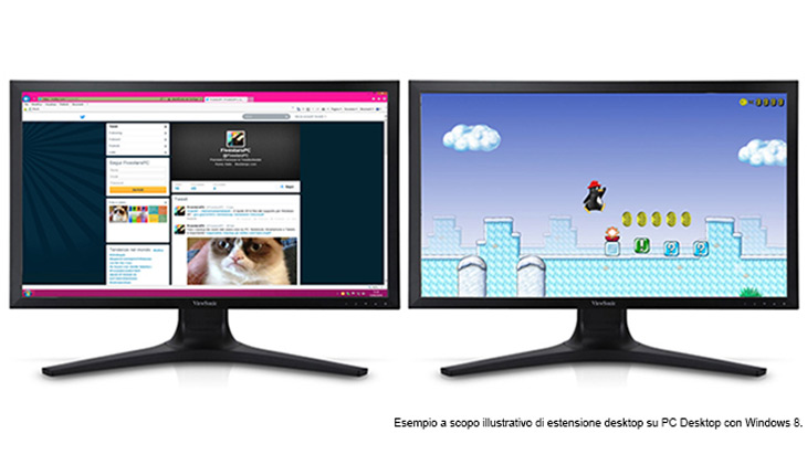 Estensione desktop su PC Desktop con Windows 8.